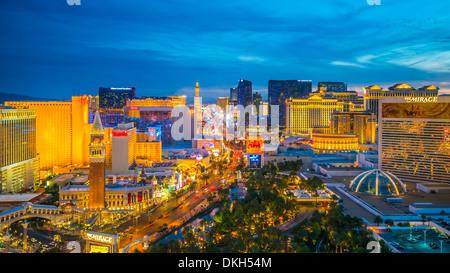 The Strip, Las Vegas, Nevada, United States of America, North America - Stock Photo