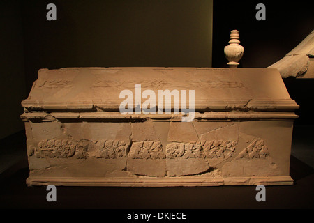Herod the Great: The King's Final Journey exhibition in the Israel Museum - Stock Photo