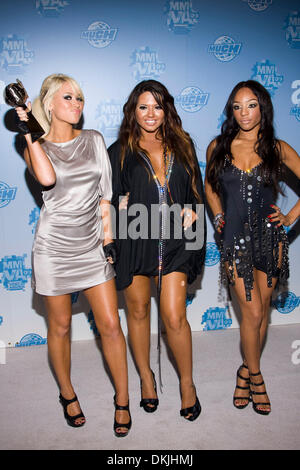 June 21, 2009 - Toronto, Ontario, Canada - June 21, Toronto; Girlicious at the Much Music Video Awards at the CTV - Stock Photo