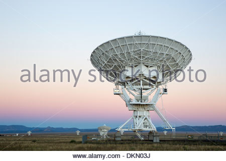 Karl G. Jansky Very Large Array, Central New Mexico - Stock Photo