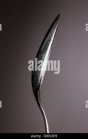 Studio photograph of flatware spoon - Stock Photo
