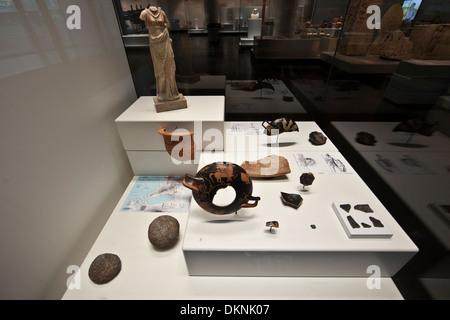 Musée d'Histoire de Marseille (Marseilles History Museum) - Stock Photo