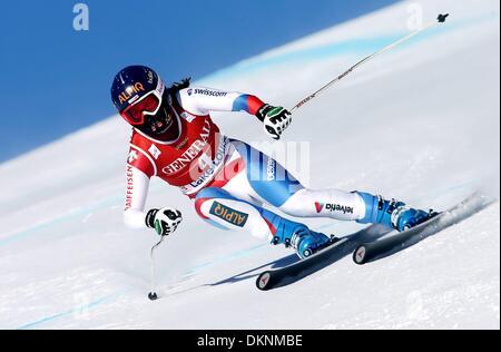 Lake Louise, Canada. 07th Dec, 2013. Ski Alpine - FIS Worldcup downhill for Women. Dominique Gisin (SUI). Credit: - Stock Photo
