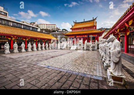 Confucius Shrine in Nagasaki, Japan. - Stock Photo