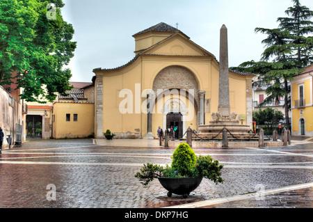Santa Sofia church (8th century), Benevento, Campania, Italy - Stock Photo