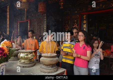 Cheng-Hoon-Teng-Tempel Melaka Malaysia - Stock Photo