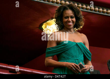 Washington, DC. 8th Dec, 2013. First Lady Michelle Obama attends the 2013 Kennedy Center Honors on December 8, 2013 - Stock Photo