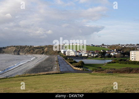 The Knap at Barry, Beach  South wales - Stock Photo