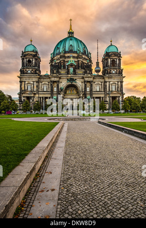 Cathedral of Berlin, Germany. - Stock Photo