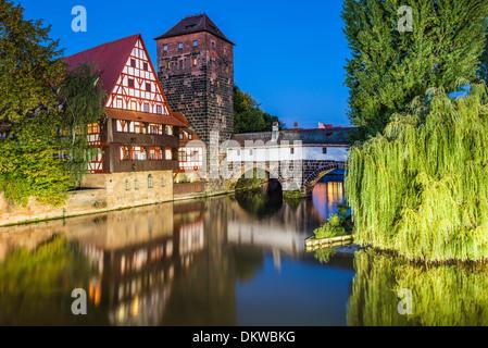 Nuremberg, Germany cityscape panorama. - Stock Photo
