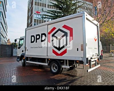 DPD Delivery van, Wembley, London, England, United Kingdom