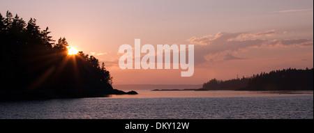 Scenic Maine, Roque Island Archipelago, Down East, Maine - Stock Photo
