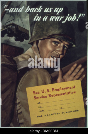 '...and back us up in a war job' 513848 - Stock Photo