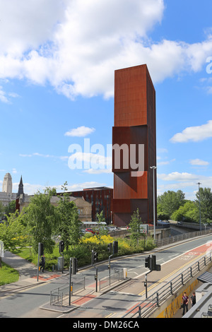 Broadcasting Tower, - student accommodation in Leeds - Stock Photo