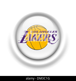 Los angeles lakers logo flag icon symbol emblem stock photo los angeles lakers logo flag icon symbol emblem stock photo voltagebd Images