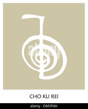 Reiki Symbol 4 - Stock Photo