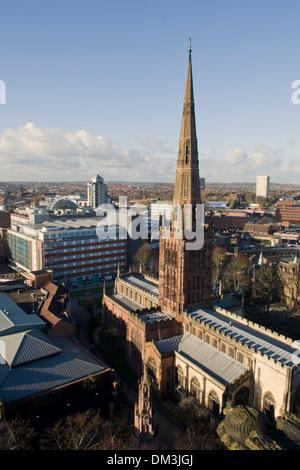 Holy Trinity Church Coventry - Stock Photo