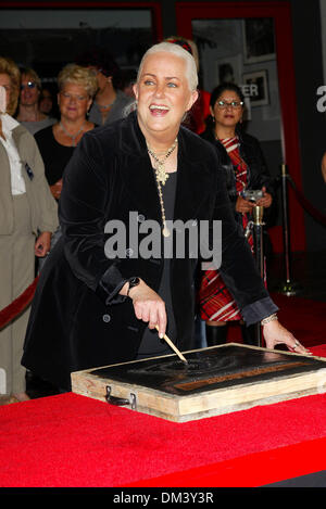 Oct. 22, 2002 - Hollywood, CALIFORNIA - GRACE SLICK..GRACE SLICK INDUCTED INTO HOLLYWOOD'S.ROCKWALK IN HOLLYWOOD, - Stock Photo