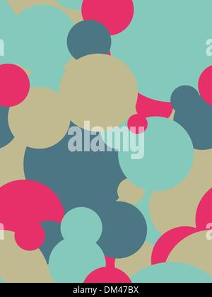 Seamless flowern patter in vector - Stock Photo