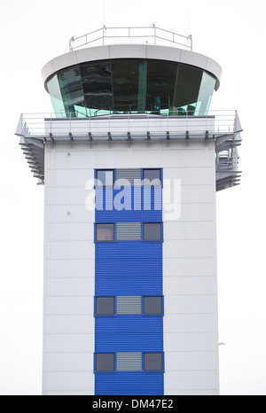 29/11/2013 London Southend airport control tower - Stock Photo