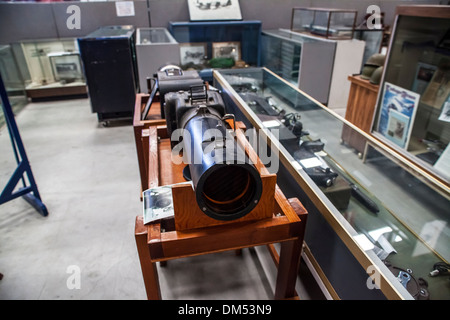 Cameras for Aerial Photography at the commemorative Air Force museum in Camarillo California - Stock Photo