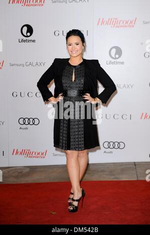 Beverly Hills, California, USA. 11th Dec, 2013. Demi Lovato in attendance for The Hollywood Reporter's 22nd Women - Stock Photo