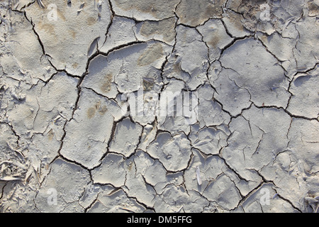 Andalusia detail mud earth heat pattern concepts olive groves province Jaen tears Spain abstract brown graphical - Stock Photo
