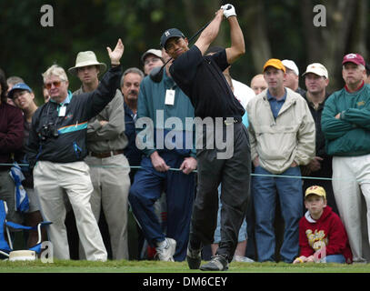 Mar 03, 2005; Miami, FL, USA; TIGER WOODS during the Championship at Doral, during the first round Thursday March - Stock Photo