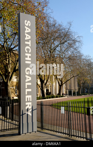 London, England, UK. Saatchi Gallery in the Duke of York's HQ building, King's Road. - Stock Photo
