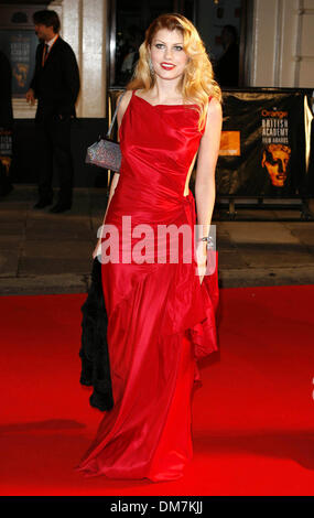 Jan. 1, 1970 - London, United Kingdom - K51767.001868.MEREDITH OSTRUM.Orange British Academy Film Awards 2007-Arrivals - Stock Photo