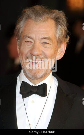 Jan. 1, 1970 - London, United Kingdom - K51767.001868.SIR IAN MCKELLEN.Orange British Academy Film Awards 2007-Arrivals - Stock Photo
