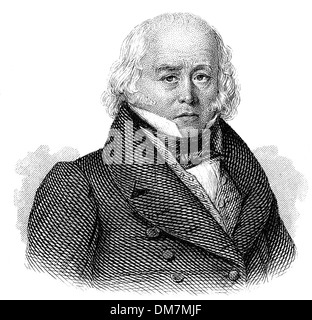 Julian Ursyn Niemcewicz, 1757 - 1841, a Polish poet, playwright and statesman, leading advocate for the Constitution - Stock Photo