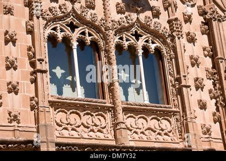 Palacio de jabalquinto, Baeza, province of Jaén, Spain - Stock Photo
