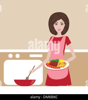 housewife - Stock Photo