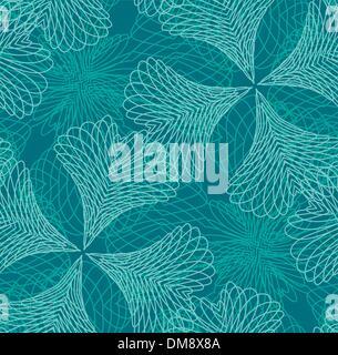 Seamless filigree pattern - Stock Photo