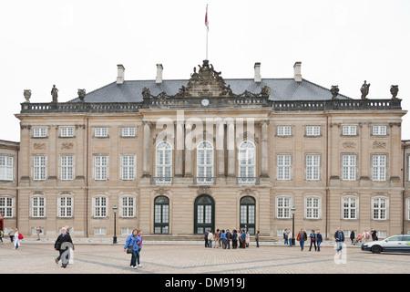 Christian VIII's Palace in Copenhagen - Stock Photo