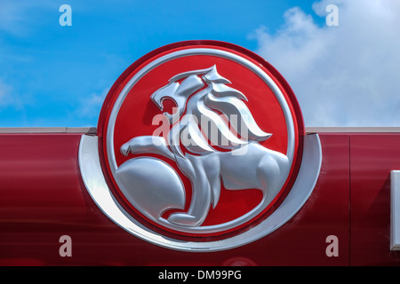 Logo of General Motors Holden GMH the Australian motor vehicle manufacturer - Stock Photo