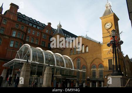 Liverpool Street station, London, UK - Stock Photo