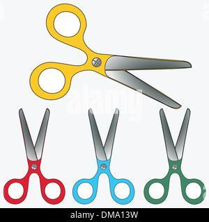 scissors collection - Stock Photo