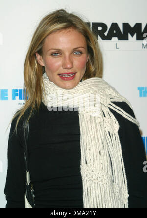 Dec. 17, 2002 - Los Angeles, CALIFORNIA, USA - CAMERON DIAZ -..'GANGS OF NEW YORK' - PREMIERE -.DIRECTORS GUILD - Stock Photo
