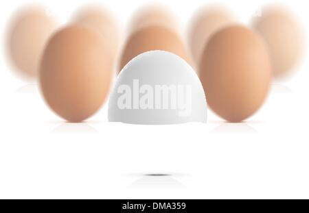 Egg concept vector illustration - Stock Photo