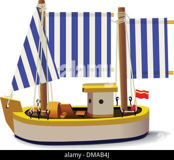 Little Ship - Stock Photo