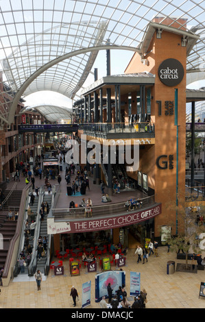 The Cabot Circus shopping centre in Bristol. - Stock Photo