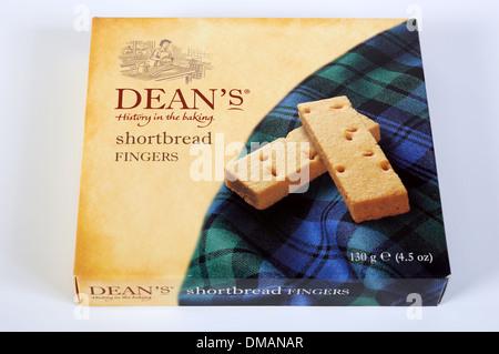 Dean's shortbread fingers - Stock Photo