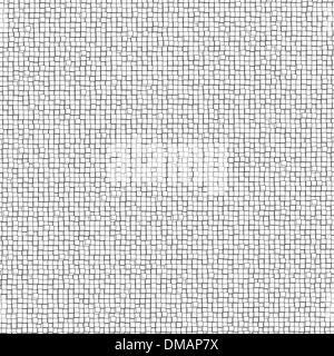 Three-dimensional design from white blocks. EPS 8 - Stock Photo