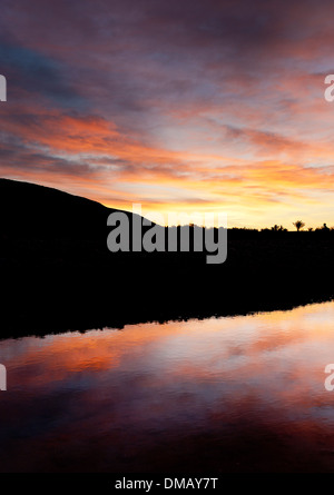 Dawn at Ait Ben-Haddou, Morocco, Africa - Stock Photo