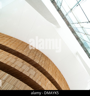 The new opera house in Oslo, Norway - Stock Photo