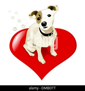 little jack russell dog - Stock Photo