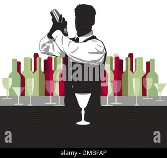 cocktail mix - Stock Photo