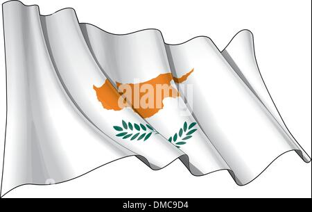 Flag of Cyprus - Stock Photo